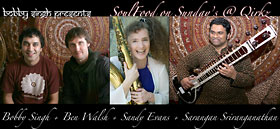 Soulfood on Sundays with Sany Evans, Ben Walsh and Sarangan Sriranganathan